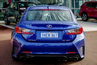 2016 Lexus RC GSC10R RC350 F Sport Blue 8 Speed Sports Automatic Coupe