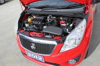2012 Holden Barina Spark MJ MY12 CDX Red 5 Speed Manual Hatchback