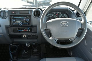 2013 Toyota Landcruiser VDJ79R MY13 Workmate Double Cab French Vanilla 5 Speed Manual Cab Chassis