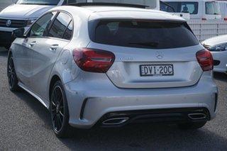 2017 Mercedes-Benz A-Class W176 807MY A200 DCT Silver 7 Speed Sports Automatic Dual Clutch Hatchback