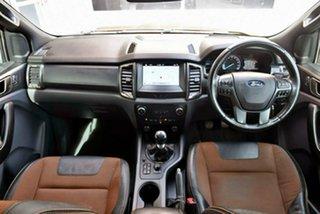 2018 Ford Ranger PX MkII 2018.00MY Wildtrak Double Cab Orange 6 Speed Manual Utility.