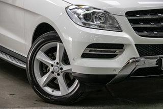 2015 Mercedes-Benz M-Class W166 MY805 ML250 BlueTEC 7G-Tronic + White 7 Speed Sports Automatic Wagon.