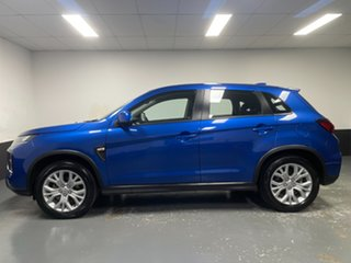 2019 Mitsubishi ASX XD MY20 ES 2WD Blue 1 Speed Constant Variable Wagon
