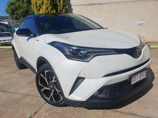 2017 Toyota C-HR NGX50R Koba S-CVT AWD White 7 Speed Constant Variable Wagon.