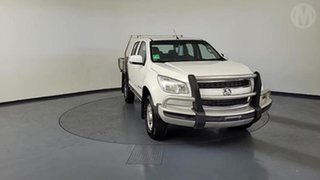 2016 Holden Colorado RG MY16 LS (4x4) White 6 Speed Manual Crew Cab Chassis.