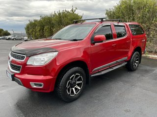 2016 Holden Colorado RG MY16 LT Crew Cab Red/4bc 6 Speed Manual Utility