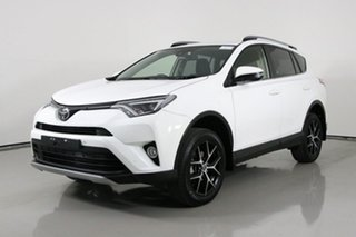 2018 Toyota RAV4 ZSA42R MY18 GXL (2WD) White Continuous Variable Wagon.