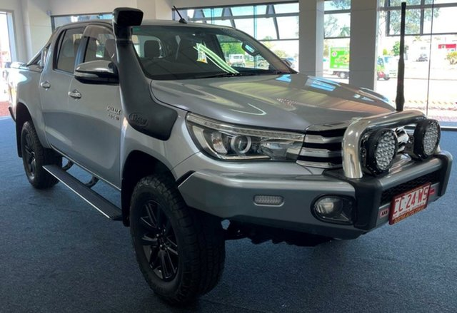 Used Toyota Hilux GUN126R SR5 Double Cab Winnellie, 2016 Toyota Hilux GUN126R SR5 Double Cab Silver 6 Speed Sports Automatic Utility