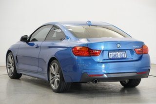 2015 BMW 4 Series F32 420i M Sport Blue 8 Speed Sports Automatic Coupe