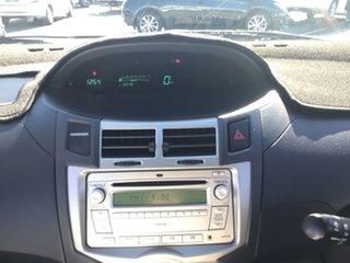2009 Toyota Yaris NCP91R MY09 YRS White 5 Speed Manual Hatchback