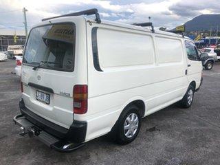 1996 Toyota HiAce LH103R SWB White 5 Speed Manual Van.