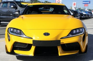 2019 Toyota Supra J29 GR GTS Yellow 8 Speed Sports Automatic Coupe.