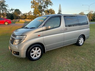 2002 Nissan Elgrand ALE50 Highway Star Silver 4 Speed Automatic Wagon