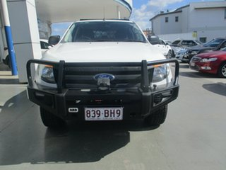 2015 Ford Ranger PX XL 3.2 (4x4) White 6 Speed Automatic Double Cab Pick Up