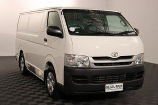 2010 Toyota HiAce TRH201R MY10 LWB White 4 speed Automatic Van.