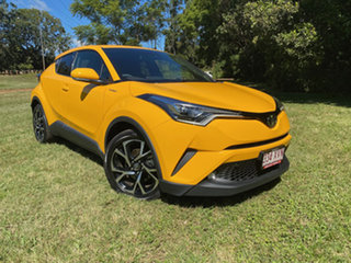 2017 Toyota C-HR NGX50R Koba (AWD) Hornet Yellow Continuous Variable Wagon.