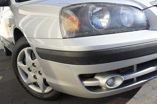 2004 Hyundai Elantra XD MY04 Silver 4 Speed Automatic Sedan.