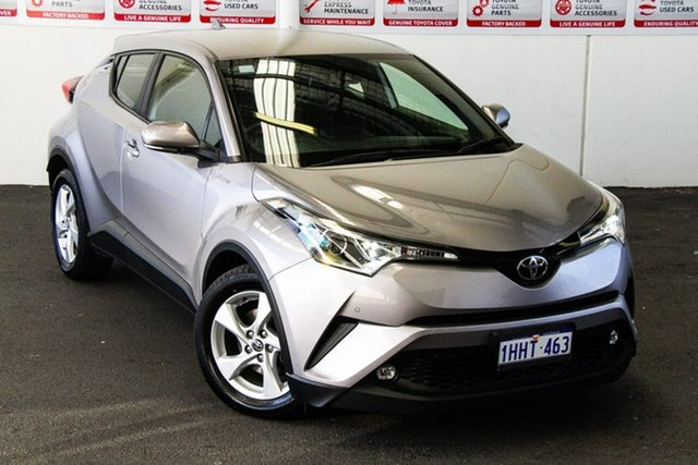 Pre-Owned Toyota C-HR NGX10R Update (2WD) Rockingham, 2018 Toyota C-HR NGX10R Update (2WD) Shadow Platinum Continuous Variable Wagon