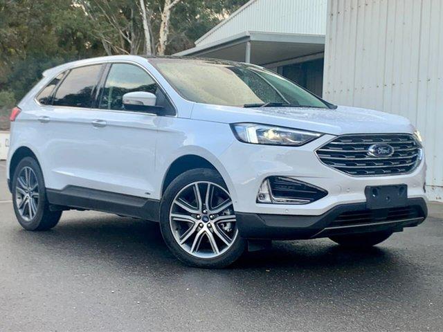 Used Ford Endura CA 2019MY Titanium Clare, 2019 Ford Endura CA 2019MY Titanium White 8 Speed Sports Automatic Wagon