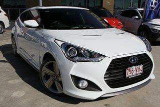 2014 Hyundai Veloster FS3 SR Coupe Turbo White 6 Speed Manual Hatchback.