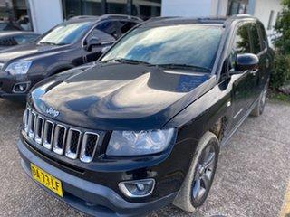 2015 Jeep Compass MK MY15 North Black 6 Speed Sports Automatic Wagon.