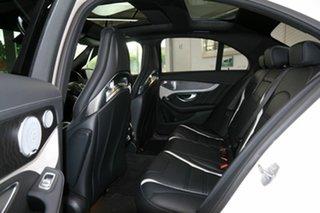 2017 Mercedes-Benz C-Class W205 808MY C63 AMG SPEEDSHIFT MCT S White 7 Speed Sports Automatic Sedan