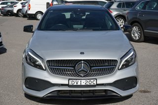 2017 Mercedes-Benz A-Class W176 807MY A200 DCT Silver 7 Speed Sports Automatic Dual Clutch Hatchback.