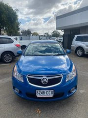 2014 Holden Cruze JH Series II MY14 Equipe Blue 6 Speed Sports Automatic Sedan.