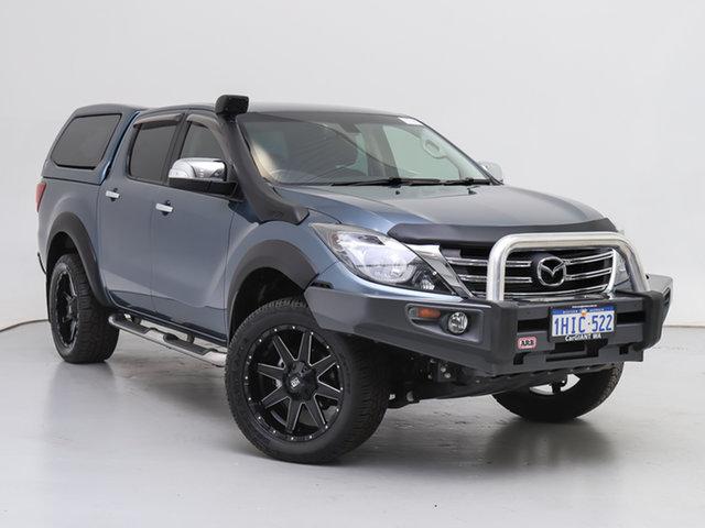 Used Mazda BT-50  GT (4x4) (5Yr), 2019 Mazda BT-50 GT (4x4) (5Yr) Blue 6 Speed Automatic Dual Cab Utility
