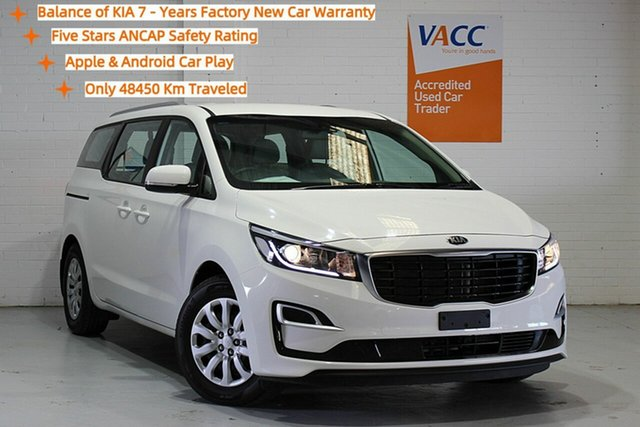 Used Kia Carnival YP MY19 S Moorabbin, 2019 Kia Carnival YP MY19 S White 8 Speed Sports Automatic Wagon