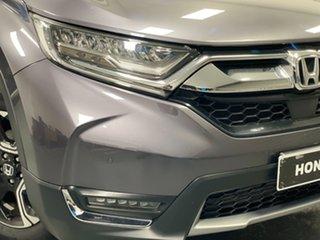 2018 Honda CR-V RW MY18 VTi-LX 4WD Grey 1 Speed Constant Variable Wagon.