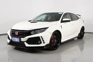2017 Honda Civic MY17 Type R White 6 Speed Manual Hatchback.