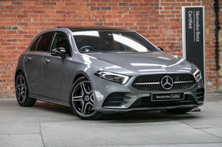 2019 Mercedes-Benz A-Class W177 A250 DCT 4MATIC AMG Line Mountain Grey 7 Speed.