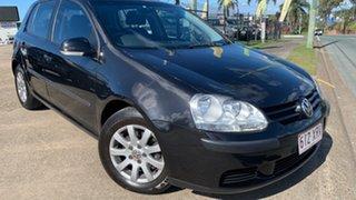 2006 Volkswagen Golf 1K 2.0 TDI Comfortline Black 6 Speed Direct Shift Hatchback.