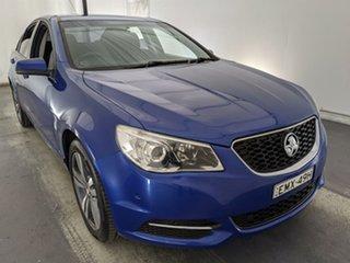 2016 Holden Commodore VF II MY16 Evoke Blue 6 Speed Sports Automatic Sedan.