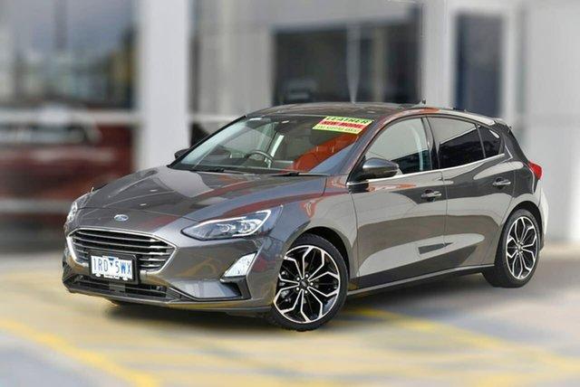 Used Ford Focus SA 2020.25MY Titanium Berwick, 2020 Ford Focus SA 2020.25MY Titanium Grey 8 Speed Automatic Hatchback