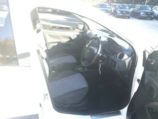 2006 Ford Fiesta WQ LX White 4 Speed Automatic Hatchback.