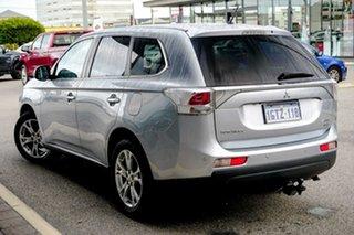 2013 Mitsubishi Outlander ZJ MY13 Aspire 4WD Silver 6 Speed Sports Automatic Wagon.