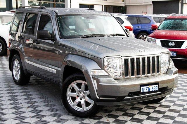 Used Jeep Cherokee KK MY12 Limited 4x2 Attadale, 2012 Jeep Cherokee KK MY12 Limited 4x2 Grey 4 Speed Automatic Wagon