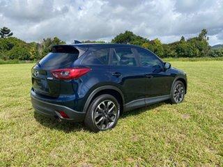 2016 Mazda CX-5 MY15 Akera (4x4) Blue 6 Speed Automatic Wagon.