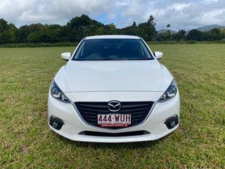 2016 Mazda 3 BM MY15 SP25 White 6 Speed Manual Sedan