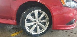 2013 Mitsubishi Lancer CJ MY13 VR-X Red 6 Speed Constant Variable Sedan.