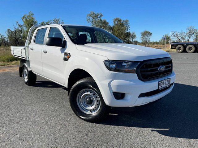 Used Ford Ranger PX MkIII 2021.25MY XL Emerald, 2020 Ford Ranger PX MkIII 2021.25MY XL Arctic White 6 Speed Sports Automatic Double Cab Chassis