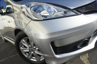 2012 Honda Jazz GE MY12 VTi Silver 5 Speed Manual Hatchback.