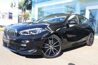 2020 BMW 118i F40 M Sport Black Sapphire 7 Speed Auto Dual Clutch Hatchback.