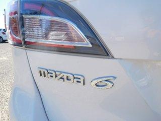 2009 Mazda 6 GH1051 MY09 Classic White 5 Speed Sports Automatic Wagon