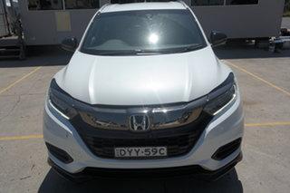 2018 Honda HR-V MY18 RS White 1 Speed Constant Variable Hatchback.