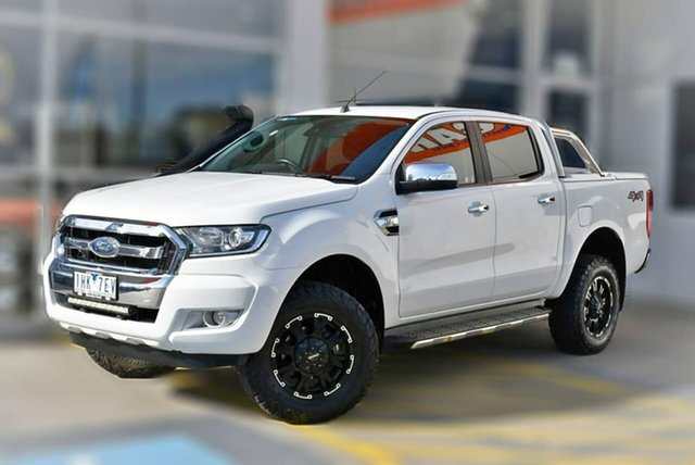 Used Ford Ranger PX MkII XLT Double Cab Berwick, 2016 Ford Ranger PX MkII XLT Double Cab White 6 Speed Sports Automatic Utility