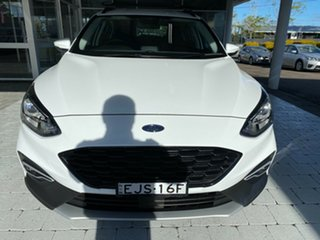 2019 Ford Focus Active White Automatic Hatchback.