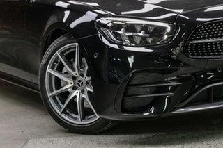 2021 Mercedes-Benz E-Class W213 801+051MY E200 9G-Tronic Obsidian Black 9 Speed Sports Automatic.